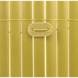 Fixcane rögzítő műanyag nádhoz bambusz szín ( 26 db rögzítő/ csomag)
