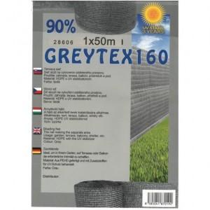 Árnyékoló háló GREYTEX 1x10 m szürke 90 %