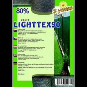 Árnyékoló háló - LIGHTTEX90 1,8 x 50 m 80%