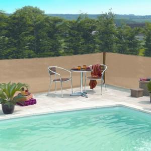 Árnyékolóháló Extranet 1,5x10m homok szín 80%