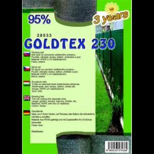 Árnyékoló háló - GOLDTEX230 1,5 x 50 m 95%
