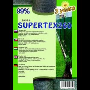 Árnyékoló háló - SUPERTEX260 1,8 x 50 m 99%