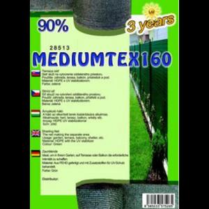 Árnyékoló háló - MEDIUMTEX160 1,8 x 50 m 90%